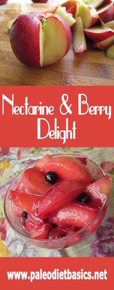 Nectarines and berries and butter - oh my!  www.paleodietbasics.net