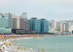 Haeundae Beach, Pusan, South Korea