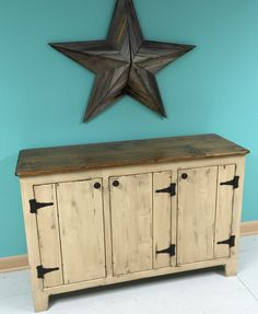 Primitve Sideboard by KKFurniture on Etsy