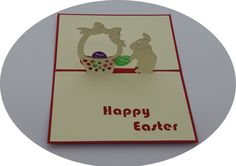 Happy Easter - 3D Pop Up Cards - Greeting Cards - Ovid Gifts