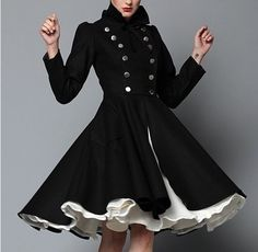 Dress-coat for a holiday evening on the town!