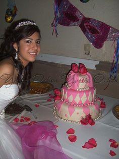 Pastel XV años en Mexicali F#1.51 / Sweet 16 cake