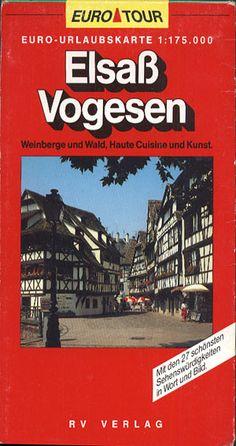 Elsaß. Vogesen 1:175 000, RV Reise- und Verkehrsverlag, 1990/91, http://www.antykwariat.nepo.pl/elsa%C4%82%C2%9F-vogesen-1175-000-p-13370.html