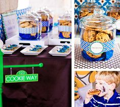 I love the cookies in actual jars instead of just a tray! It would help moms regulate cookie intake lol