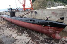 Decommissioned submarines
