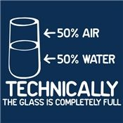 The glass is completely full. :) And I'm a nerd. Custom Screen Printing, Science Humor, Funny Science, Thats The Way, White Ink, T Shirts With Sayings, Laugh Out Loud, The Funny, Funny Tshirts