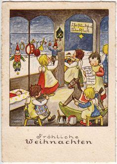 580 best christmas 8a vintage cards images vintage. Black Bedroom Furniture Sets. Home Design Ideas
