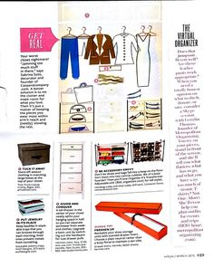 In Style closet guide