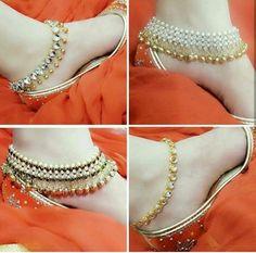 Antique Jewellery Designs, Gold Earrings Designs, Sterling Silver Anklet, Silver Anklets, Silver Ankle Bracelet, Ankle Bracelets, Bangles, Fashion Accessories, Fashion Jewelry