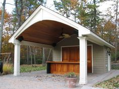 pool house with bar - Google Search
