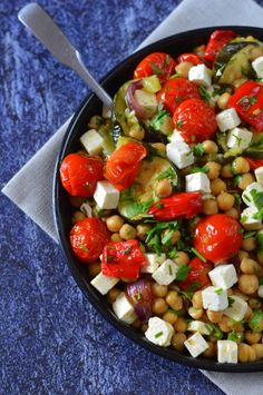Vegetable Recipes, Vegetarian Recipes, Cooking Recipes, Healthy Recipes, Chickpea Salad Recipes, Health Eating, Light Recipes, The Best, Food To Make