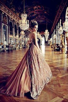 gorgeous opera gown