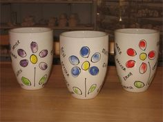 This would be a great gift idea for mothers day with a big flower pot and fresh flowers...