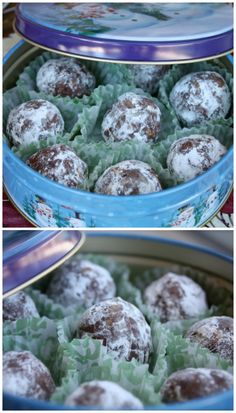 Bourbon Balls - a no-bake, spiked holiday treat! Perfect for gifting to friends and neighbors.