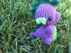 Spike My Little Pony crocheted. $34.50, via Etsy.
