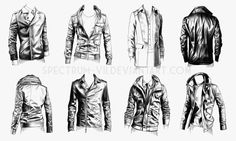 A study in jackets 2- military style by Spectrum-VII on deviantART