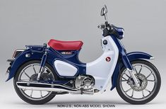 After announcing the return of the iconic Monkey mini-bike, Honda is bringing back another fun, compact retro bike, the Super Cub! The popular Super Cub bike is one of the most recognizable bikes in the world, but in the U.S the model was discontinue Honda Cub, C90 Honda, Honda Scooters, Honda Motorcycles, Small Motorcycles, Custom Motorcycles, Retro Bike, Vintage Moped, Retro Motorcycle