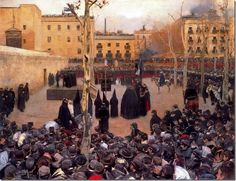 ramon casas i carbo_Garrote vil_1894