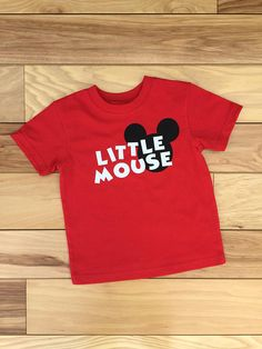 Disney Inspired Shirt Little Mouse Shirt Mouse Shirt Mouse