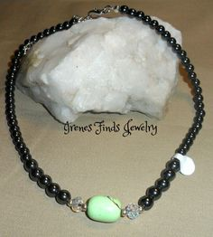 'Magnetic Hematite Necklace Choose stone ' is going up for auction at 11am Sun, Dec 8 with a starting bid of $9.