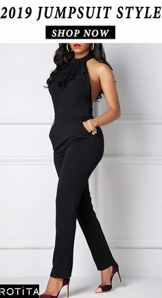 Jumpsuit is a statement style, comfort, easy to wear and just beautiful. Like dresses, jumpsuits come in many styles, so part of pulling off this look is all about finding the right jumpsuit for you. Stylish Work Outfits, Dressy Outfits, Fashion Outfits, Womens Fashion, Dressy Shorts, Ladies Fashion, Fashion Ideas, Cute Outfits, Long Jumpsuits