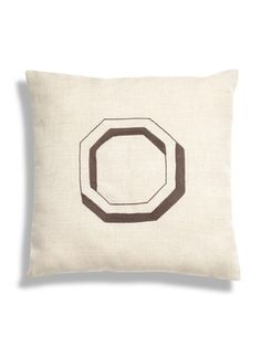 Amee Octagon Pillow by Leah Singh on Gilt Home