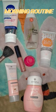 Makeup Vs No Makeup, Makeup Set, Skin Makeup, Beauty Care, Beauty Skin, Morning Routine School, Whitening Face, Loose Powder, Beauty Routines