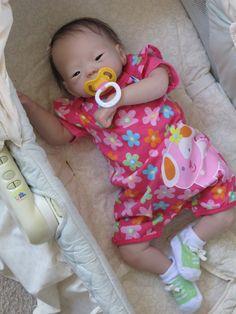 Reborn baby girl heirloom doll Kameko by by simplysweetbundles, $250.00