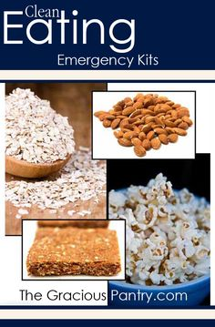 Clean Eating Emergency Kits. Never get stuck without clean food again!