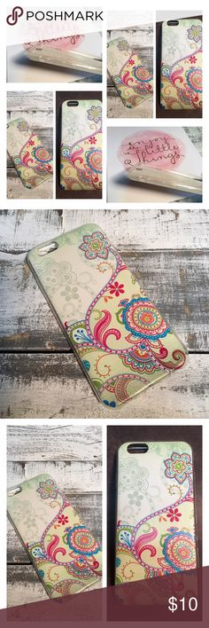 🌸Floral IPhone 6/6S case. 🌸 Brand New Floral iPhone 6/6S case! Super cute! Accessories Phone Cases