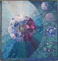 Art quilts!  So awesome!