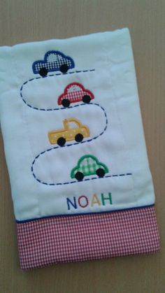 Baby Applique, Baby Embroidery, Hand Embroidery Designs, Baby Boy Quilt Patterns, Baby Boy Quilts, Quilting Projects, Quilting Designs, Sewing Projects, Diy Baby Gifts