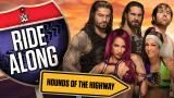 Straight outta LA - The Hounds of Justice, The Shield and the duo of Sasha Banks and Bayley hit the freeway on the road to Monday Night RAW!