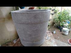 Como fazer vaso de tapete velho - YouTube