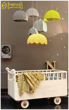 Inspiração - quartos de bebê #decor #bedroom #kidsroom #colors #casadasamigas