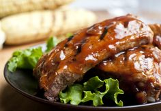 Nothing says summer like these melt-in-your-mouth ribs. They're easy to make, and the 5-ingredientBBQ sauce is finger-licking flavorful. So fire up the grill and enjoy!
