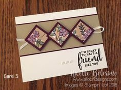 6 x 6 One Sheet Wonder Project with Share What You Love Specialty Designer Series Paper Paper Cards, Folded Cards, Men's Cards, Cards Diy, Task Cards, Card Making Templates, Making Cards, One Sheet Wonder, Stamping Up Cards