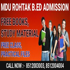 B.ed from MDU, the Maharshi Dayanand University Rohtak #Bed_admission #Bed_from_mdu #MDU_Bed_admission Bachelor Of Education, Online Registration, Entrance Exam, Last Date, Online Form, Beds Online, Study Materials, Free Books, Counseling