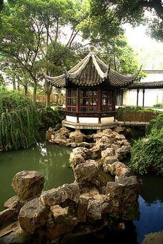 Rockbridge at The Humble Administrator's Garden in Suzhou, China (by redrijn).