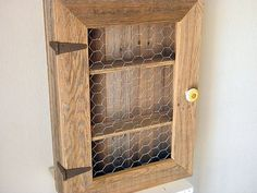 Country Cabinet. Rustic Spice Cabinet With By Tdrusticreflections