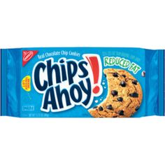 I'm learning all about Chips Ahoy Reduced-Fat Real Chocolate Chip Cookies at @Influenster!