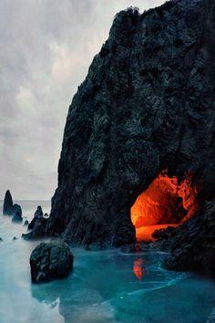 Matador Cave, Malibu, California.  More California Dreaming:  http://www.zazzle.com/thenaughtynook/gifts?cg=196724005075615895&rf=238479042766184488  http://www.cafepress.com/thenaughtynook/9990953