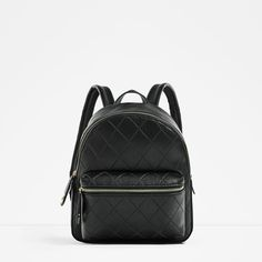 Image 2 of EMBOSSED POCKET BACKPACK from Zara