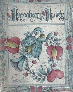 Huggaboom Hearts by Jo Sonja Jansen c1985 Folk Art | eBay