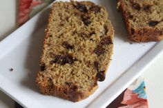 Higher protein chocolate chip banana bread