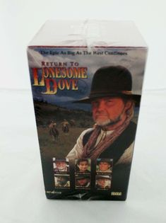Return to Lonesome Dove (VHS, Set, SP Boxed Set Edition) for sale online Lonesome Dove, Westerns, Seal, Tape, Decorative Boxes, German, Porcelain, Deutsch, Porcelain Ceramics