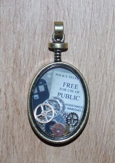 Doctor Who Love Pendant <3