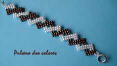 DIY- Pulsera de dos colores - Two color bracelet