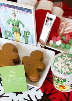 an elf christmas deployment care package | bake.love.give.