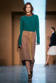 A look from the Derek Lam Fall 2015 RTW collection.